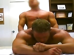 Bareback fucked at the police station 3