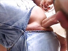 Fucking Bareback With Jeans